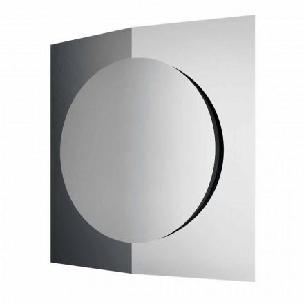 Vægspejl i moderne design sammensat af 3 paneler fremstillet i Italien - Bristol