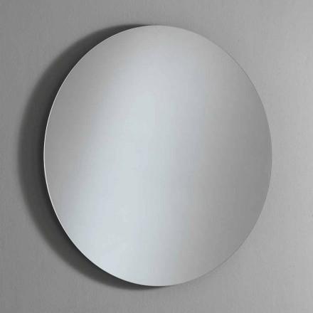 Rundt bagbelyst vægspejl med LED Made in Italy - Ronda
