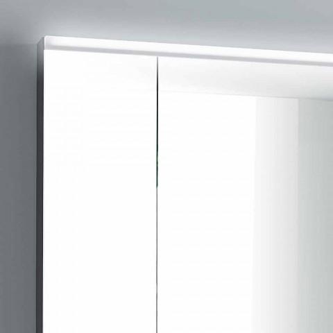 Spejlskab LED belysning med 3 døre, moderne design, Carol
