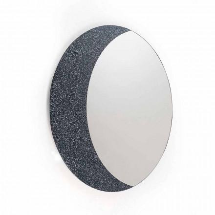 En væg spejl 100% Made in Italy moderne design Aldo