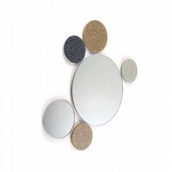 Spejl Rund design væg modeno gjort i Italien ADDO