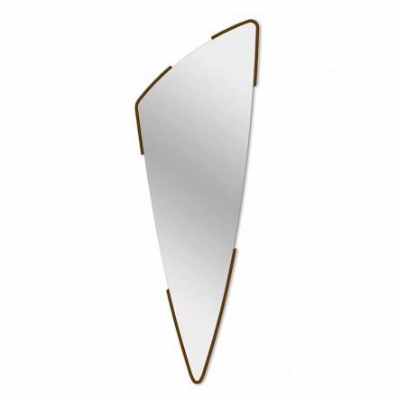 Dekorativt væg spejl moderne design i 4 farver fremstillet i Italien - Spino