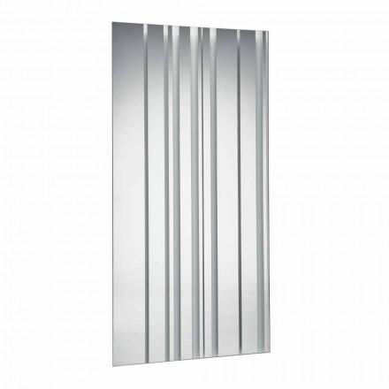 Moderne design rektangulær væg spejl lavet i Italien - Coriandolo