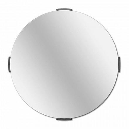 Moderne rund design Cantilever væg spejl med ramme - Odosso