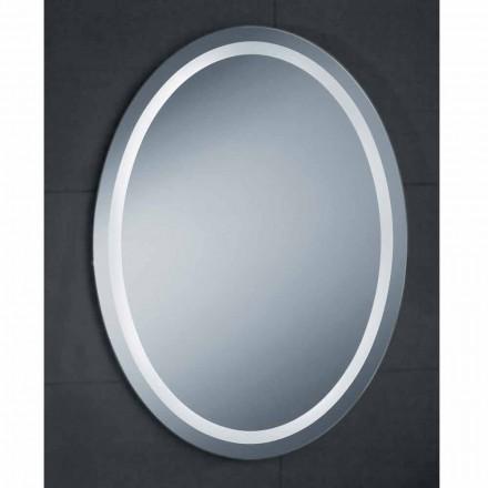 Spejl moderne design med LED-belysning bad Pure