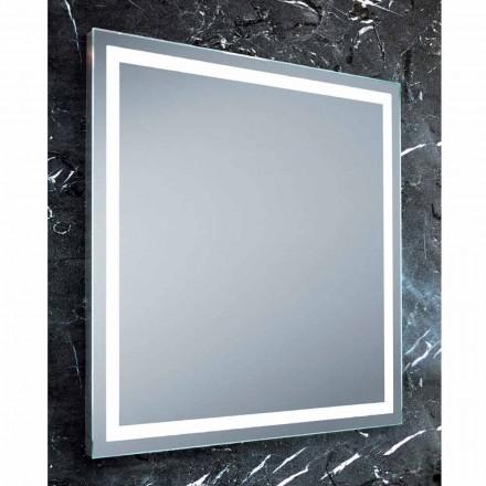 Mirror moderne design badeværelser med LED-belysning Paco