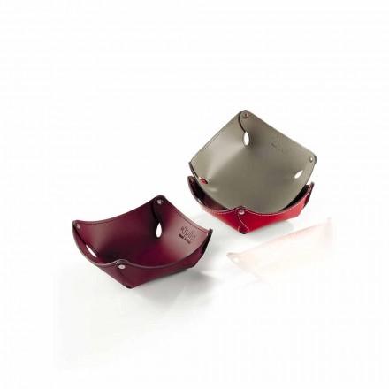 Tomme lommer i læder eller regenereret læder - Clay model