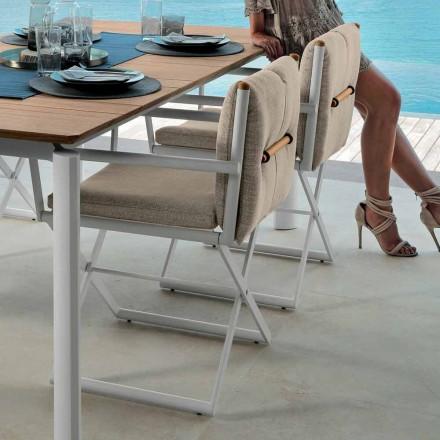 Talenti Domino direktørstol til udendørs design fremstillet i Italien