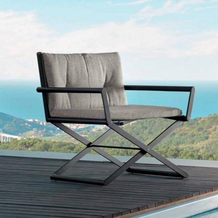 Talenti Domino haven direktør lænestol af lavet i Italien design