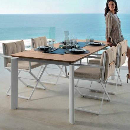 Talenti Domino udvidelig havebord 160 / 215cm lavet i Italien