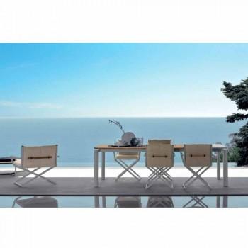 Talenti Domino udvideligt havebord 200 / 260cm fremstillet i Italien