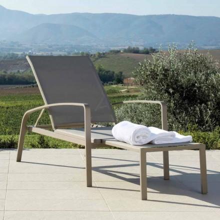 Talenti Lady recliner design havemøbler lavet i Italien