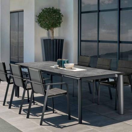 Talenti Milo udvidelig udendørs havebord lavet i Italien