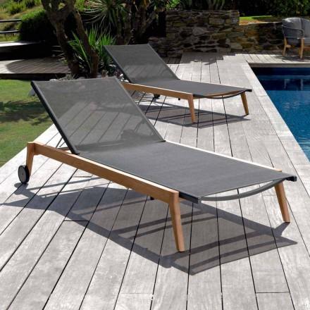 Talenti Moon haven lounger lavet af italiensk design stof