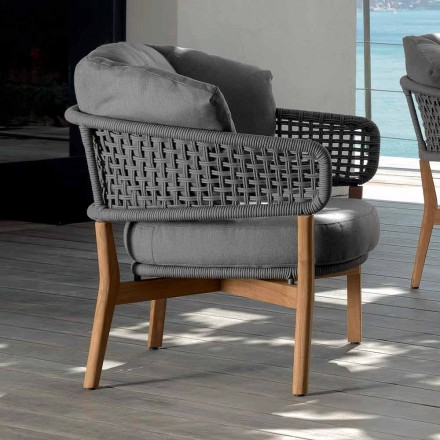 Talenti Moon udendørs design lænestol fremstillet i Italien