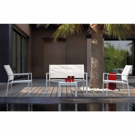 Talenti Touch sammensætning udendørs lounge design lavet i Italien
