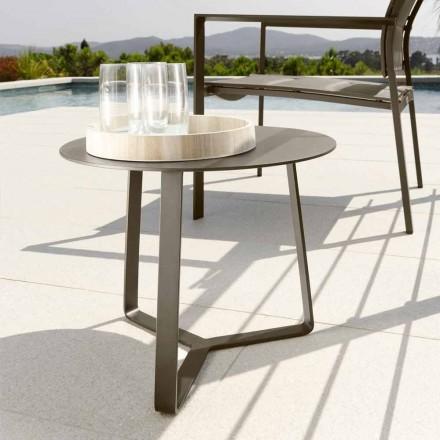 Talenti Touch haven sofabord i aluminium d.45 fremstillet i Italien