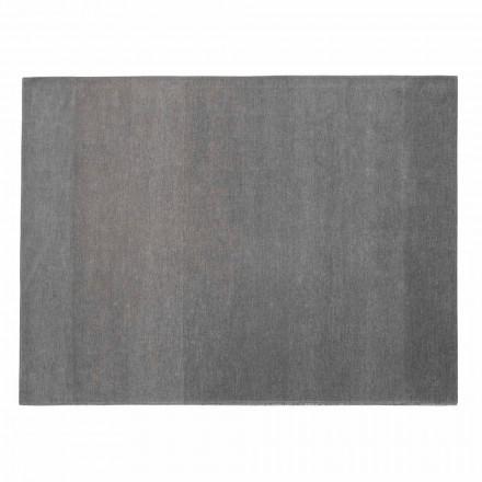 Stue tæppe 100% bomuld med skridsikker, Fin Made in Italy - Mirea