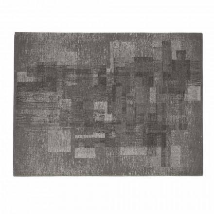 Stue tæppe i bomuld med skridsikker latex fremstillet i Italien - Kaila