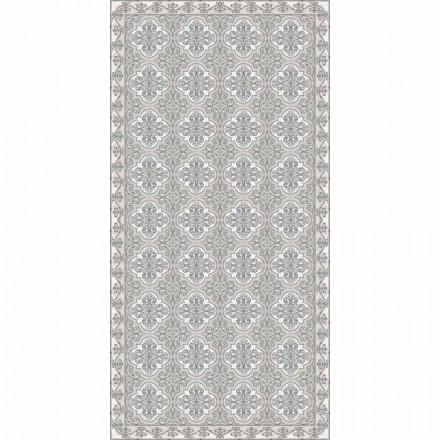 Moderne stuen tæppe med Majolica Fantasy i rektangulær vinyl - Costa
