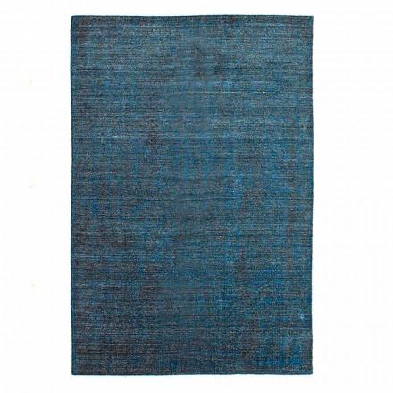 Stue tæppe produceret på manuelt væv i viskoseuld og bomuld - Cristel