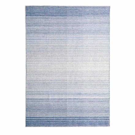 Rektangulær stue tæppe håndvævet i polyester og bomuld - Zonte