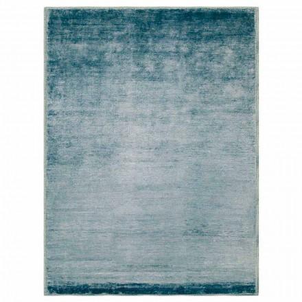 Farvet og moderne designtæppe i bomuld og silke 2 dimensioner - Zefiro