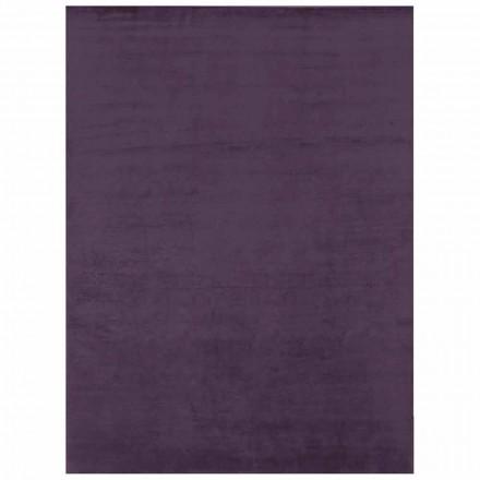 Tæppe til moderne design i farvet silke og store dimensioner - Outlook