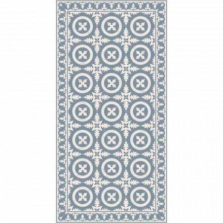 Moderne stue tæppe i beige eller blå fantasy vinyl - Bondo
