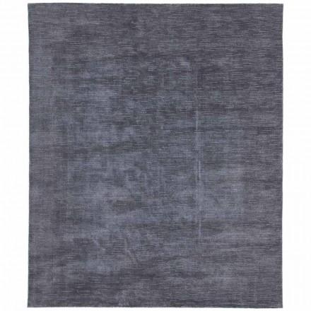 Stort og farvet tæppe med stribet og moderne design til stue - stikkel