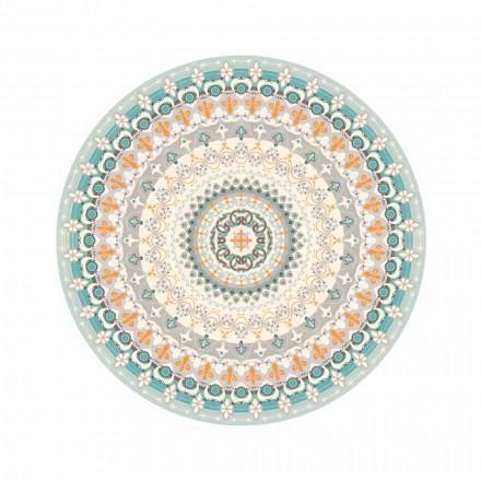 Rundmønstret vinylklæde til moderne stil til køkken - Rondeo