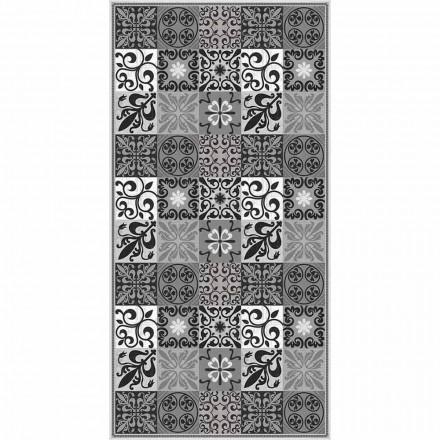 Design stuen tæppe i PVC og polyester med Fantasy - Pita