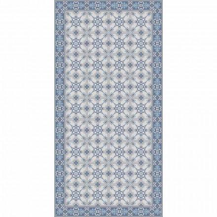 Design stuen tæppe i rektangulær mønster i pvc og polyester - Chico