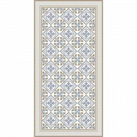 Moderne stue tæppe i pvc og polyester med fantasy - Leno