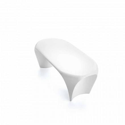 Moderne kaffeborde til indendørs eller udendørs, 2 stykker - lilje af Myyour