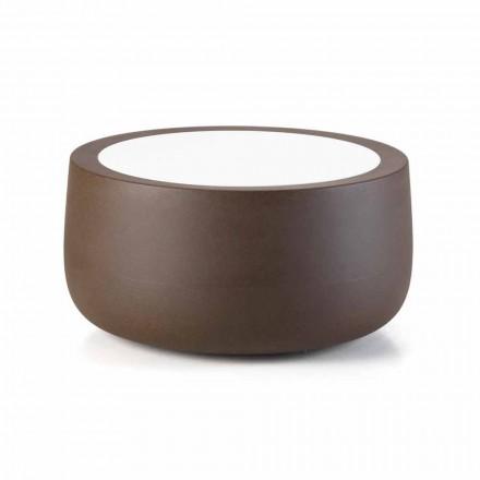 Udendørs sofabord med lavt design i HPL og polyethylen Fremstillet i Italien - Belida