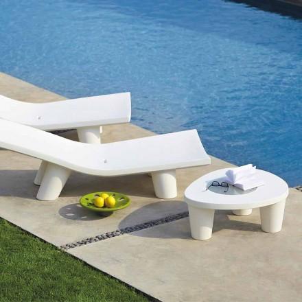 Lavt sofabord Slide Low Lita Bord i polyethylen og glas