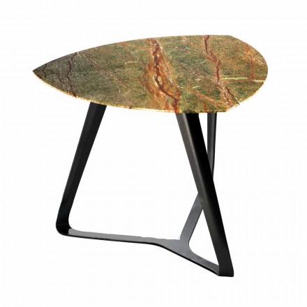 Håndlavet sofabord med luksus marmorplade fremstillet i Italien - Royal