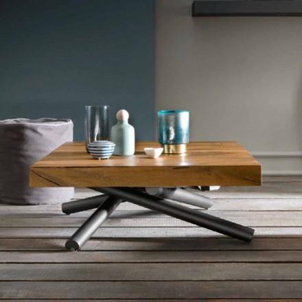 Transformerende sofabord af design i træ fremstillet i Italien - Vincenzo