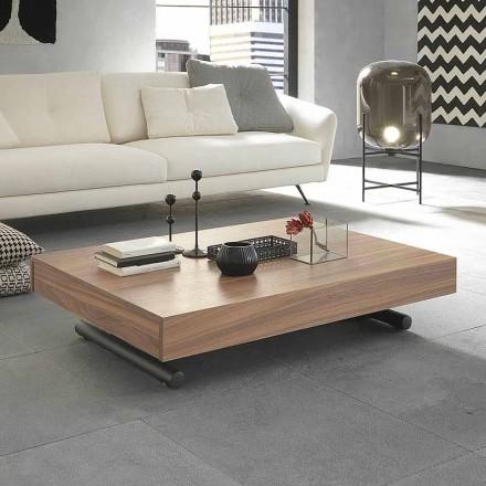 Moderne transformerende sofabord i træ og metal fremstillet i Italien - Fabio