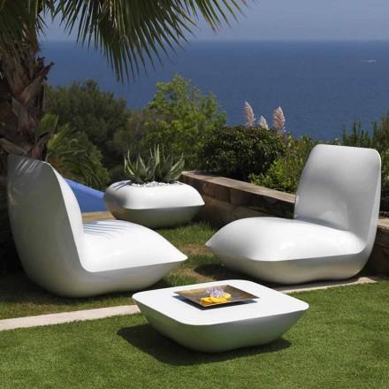Udendørs sofabord Pillow Vondom, moderne design 67x67 cm
