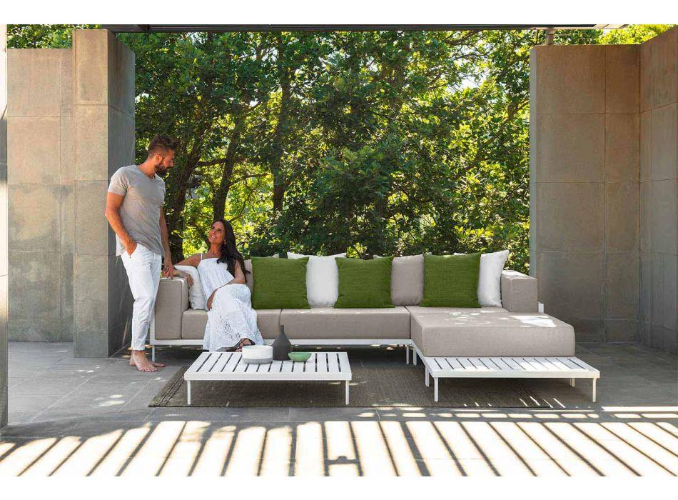 Aluminium rektangulært udendørs sofabord - Cleo Alu af Talenti