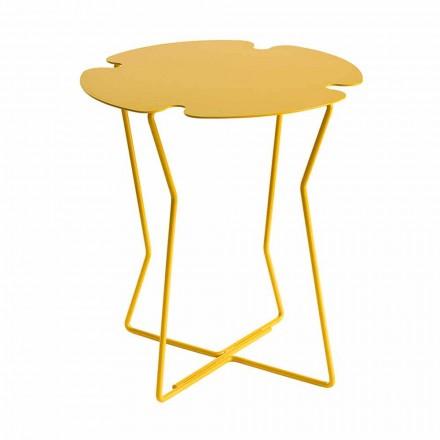Sofabord til stue i metal, design af forskellige farver - Kathrin
