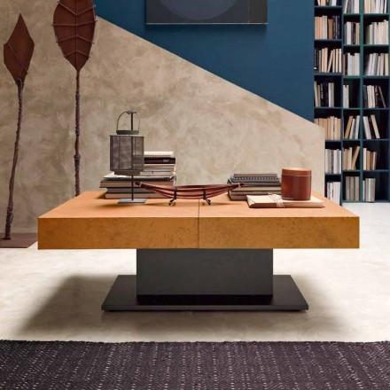 Transformer sofabord med mørteleffekt Top lavet i Italien - romantisk