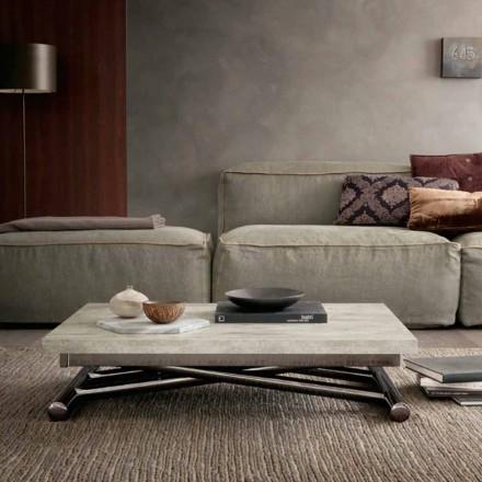 Moderne transformerende sofabord i træ og metal fremstillet i Italien - Gabri