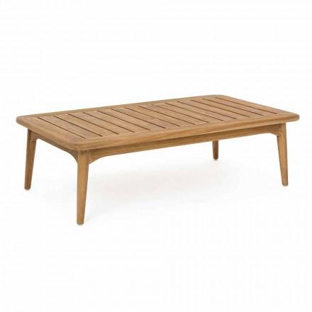 Homemotion Modern Teak Wood udendørs bord - Luanaedmea