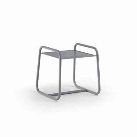 Høj kvalitet farvet metal udendørs sofabord fremstillet i Italien - Karol