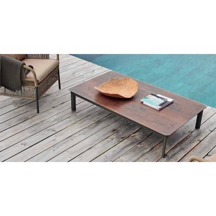 Varaschin System udendørs design bord i malet aluminium
