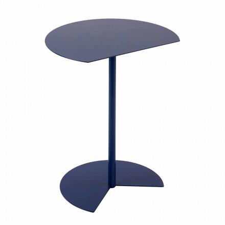 Moderne design farvet metal sofabord i metal i 3 størrelser - Cettina