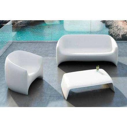 Garden sofabord lavet af polyethylen Blow Vondom, moderne design